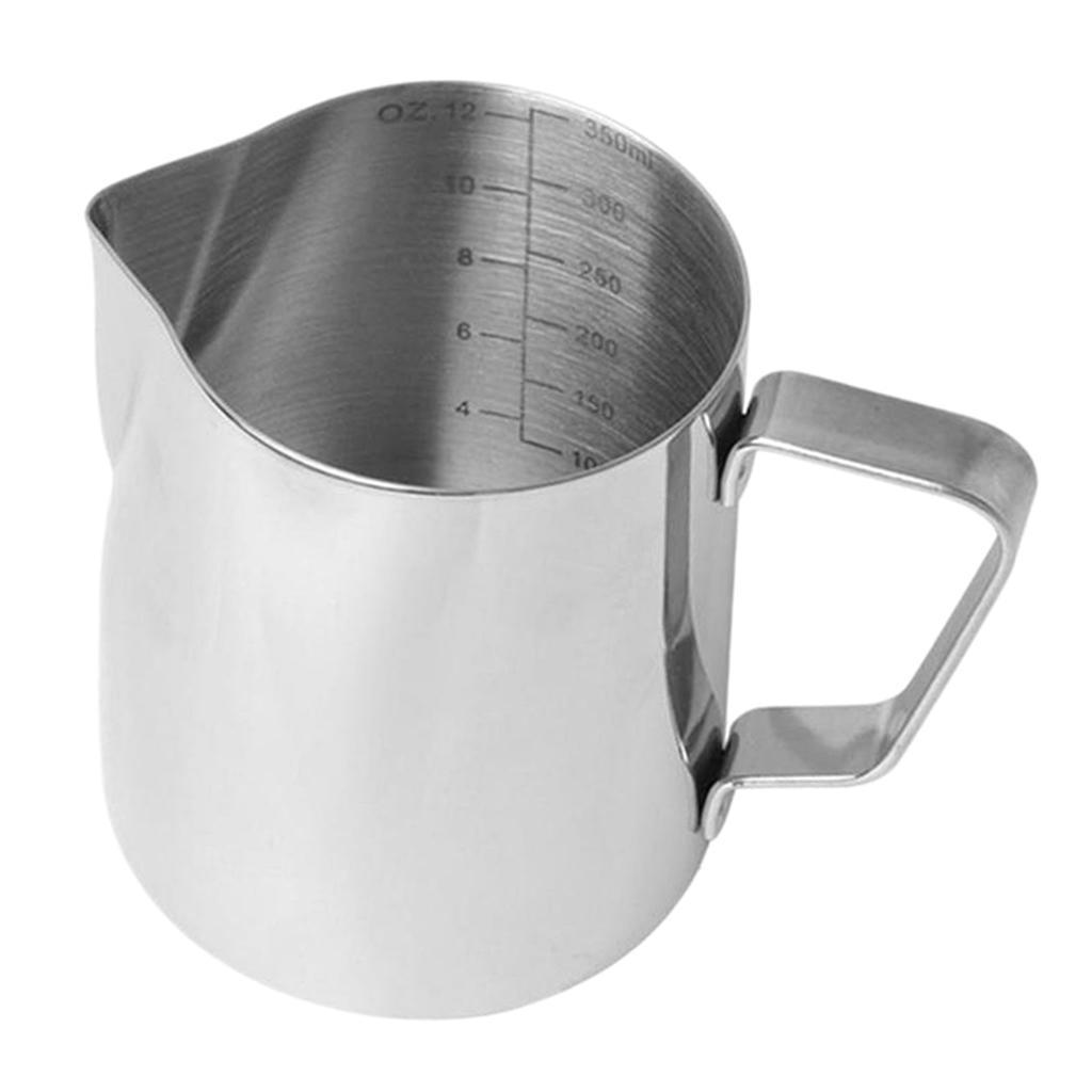 Milk-Frothing-Pitcher-Stainless-Steel-Creamer-Frothing-Pitcher-350-600ml thumbnail 8