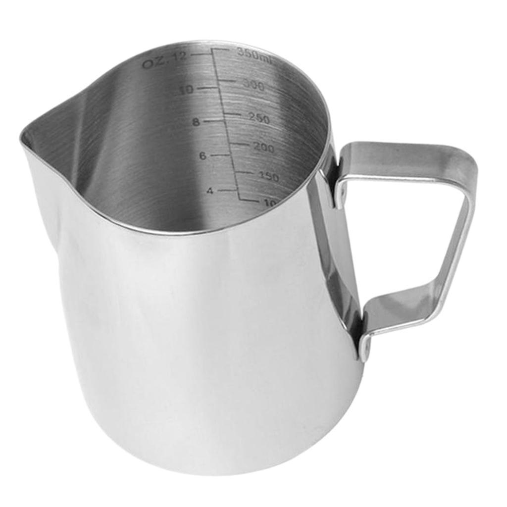 Milk-Frothing-Pitcher-Stainless-Steel-Creamer-Frothing-Pitcher-350-600ml thumbnail 10