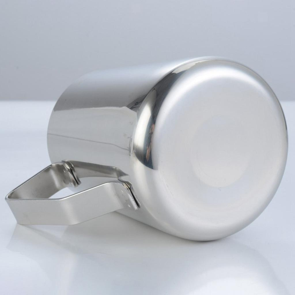 Milk-Frothing-Pitcher-Stainless-Steel-Creamer-Frothing-Pitcher-350-600ml thumbnail 12