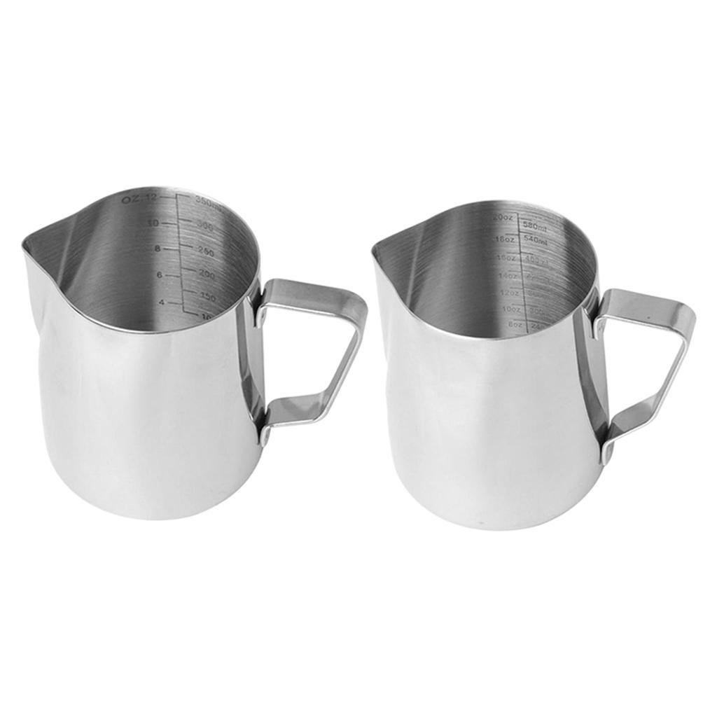 Milk-Frothing-Pitcher-Stainless-Steel-Creamer-Frothing-Pitcher-350-600ml thumbnail 15