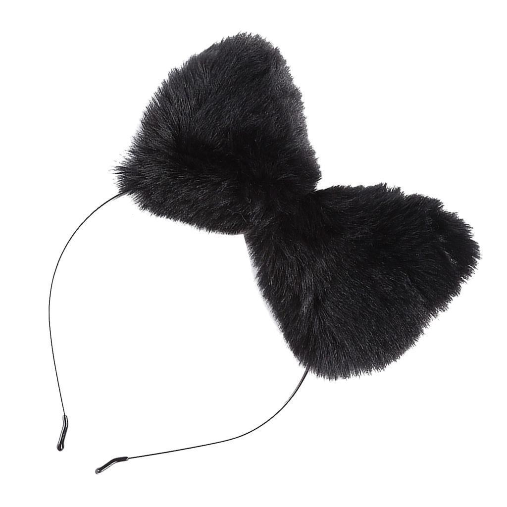 Katzenohren-Stirnband-Haarband-Haarreife-Kopfschmuck-Perfekt-fuer Indexbild 22