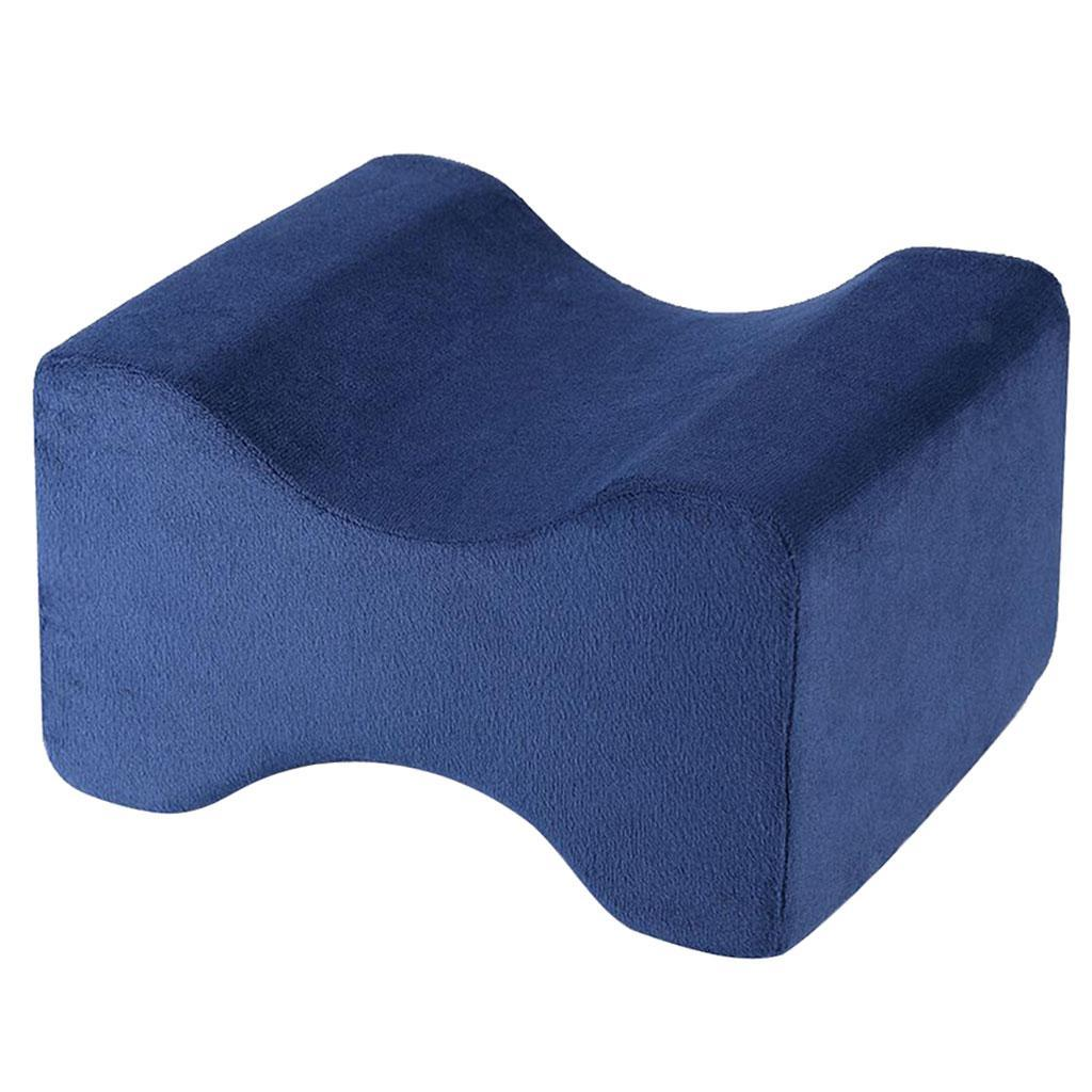 Memory-Foam-Leg-Pillow-with-Cover-Orthopaedic-Firm-Back-Hips-Knee-Support thumbnail 16