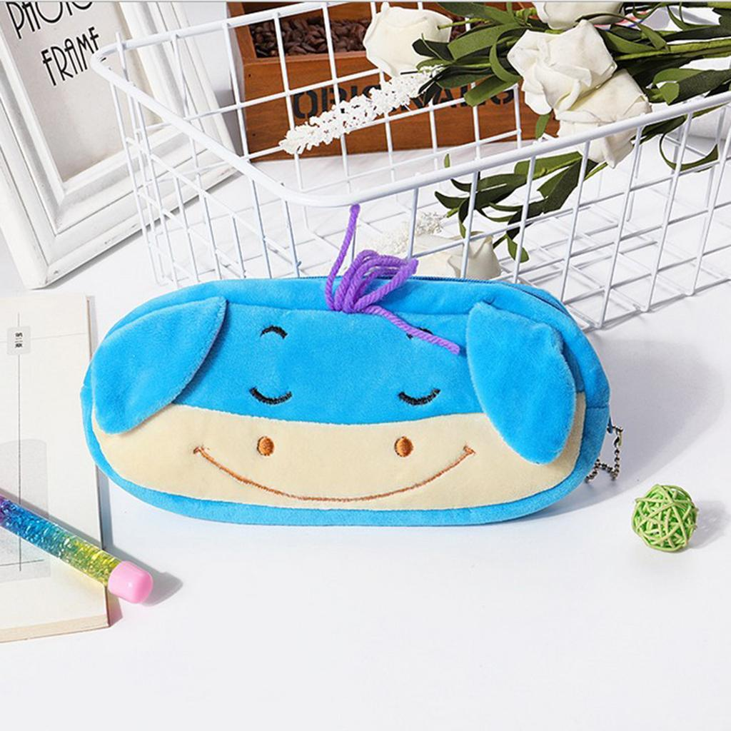 Pencil-Pouch-Plush-Stationery-Bag-Animal-Cosmetic-Bags-School-Supplies thumbnail 16