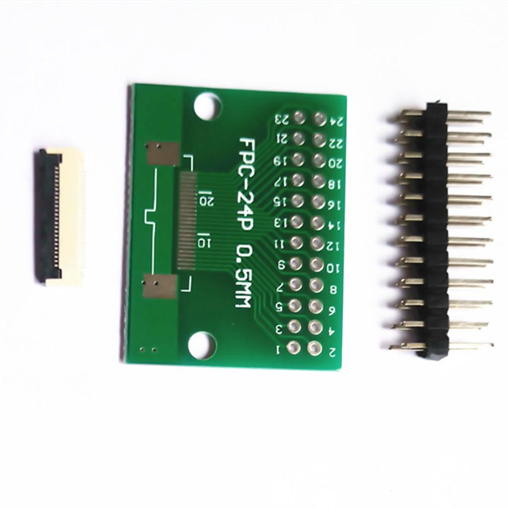 Adapters Plate FFC to 2.54 Inline Transfer Boards 0.5mm Pitch Seat FPC 60PIN