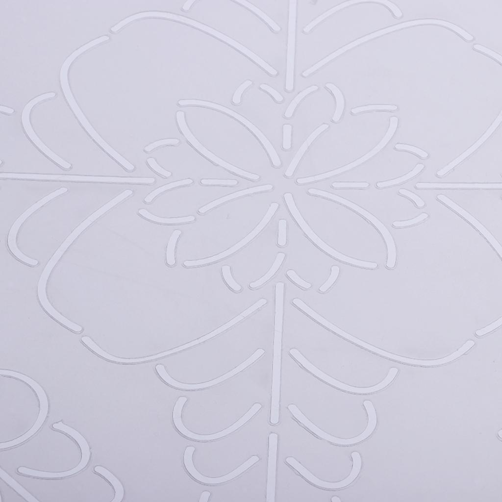 1pc-Plastic-Embroidery-Quilting-Templates-amp-Stencils-Sewing-Patchwork-Tools-DIY thumbnail 10
