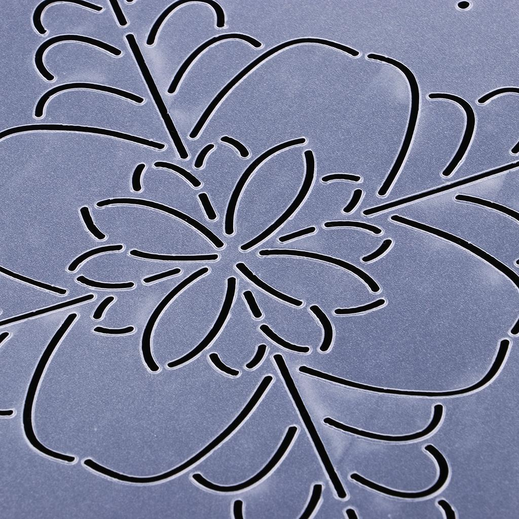 1pc-Plastic-Embroidery-Quilting-Templates-amp-Stencils-Sewing-Patchwork-Tools-DIY thumbnail 12