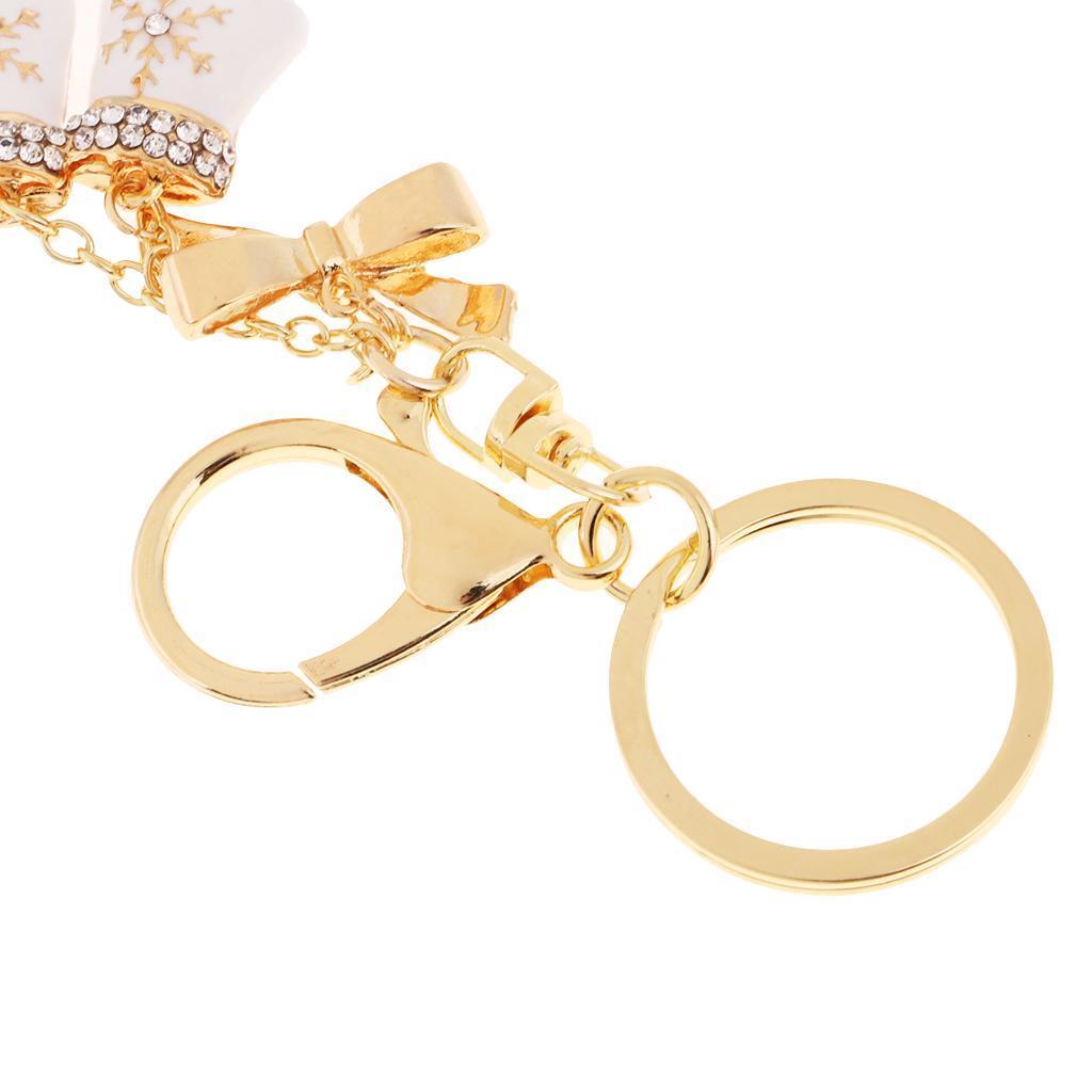 Alloy-Fashion-Flamingo-Rhinestone-Keyring-Bag-Hanging-Decor-Women-Keychain thumbnail 7