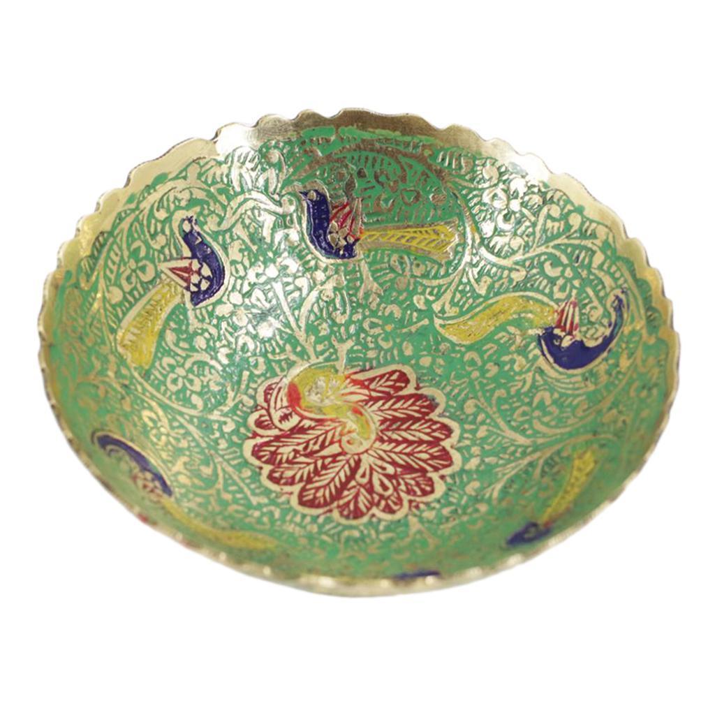 Piatta-Cibo-Casa-Servire-Tavola-Frutta-Buddismo-Decorazione-Collezioni miniatura 14