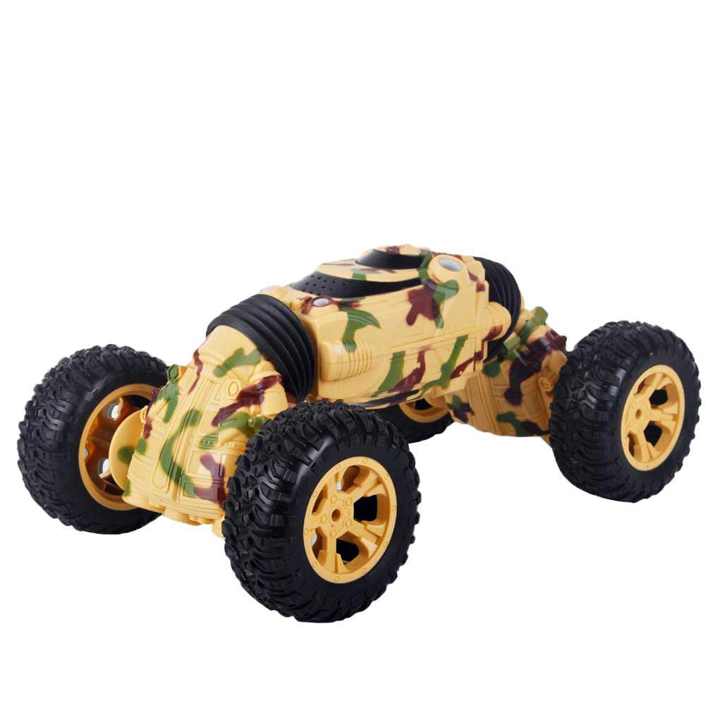 1 16 SCALA telecouomodo Stunt auto Camion modellololo doppio-Side doppio-Side doppio-Side in esecuzione dbd328