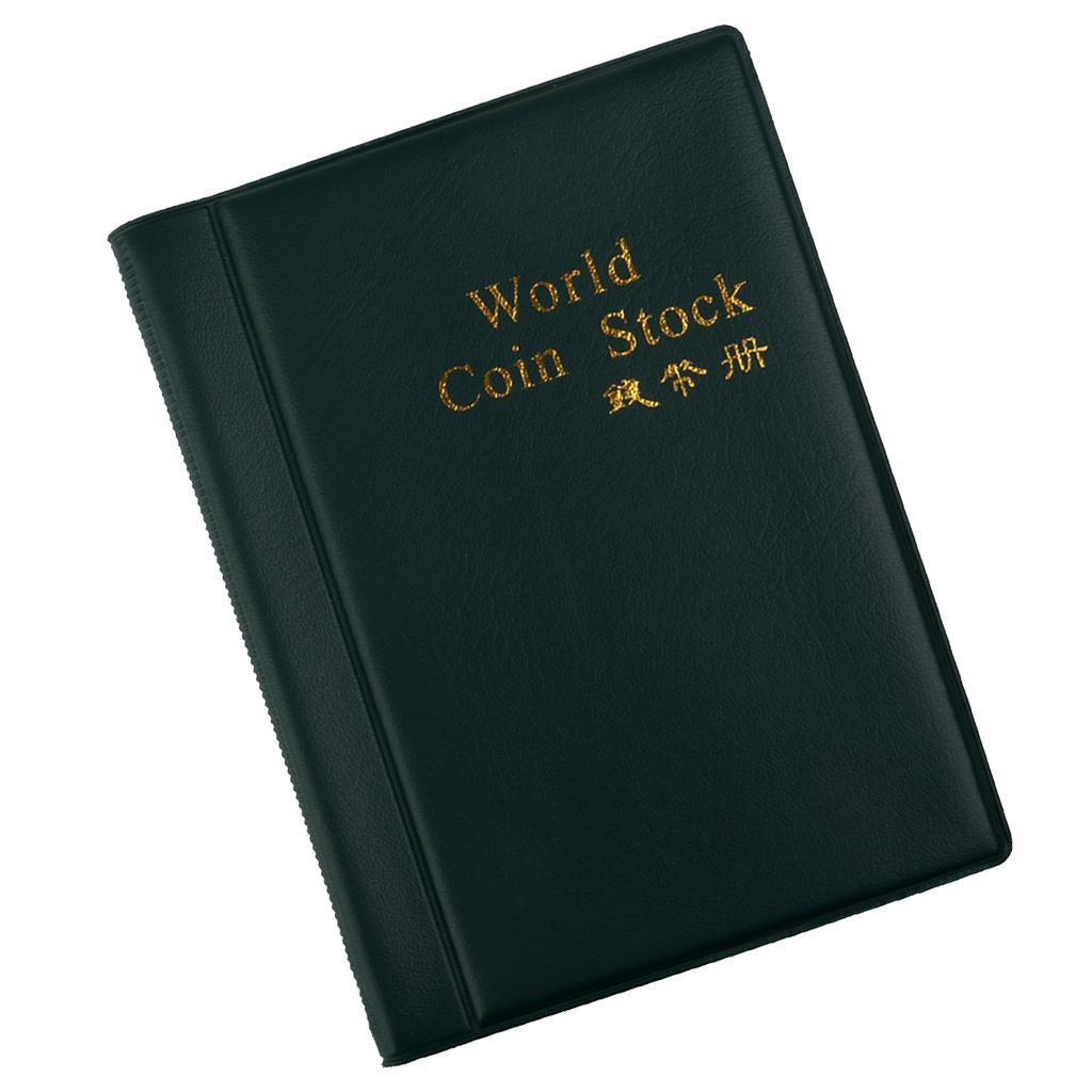 Raccoglitore-per-Monete-da-Collezione-Album-Portamonete-120-Tasche-10-Fogli miniatura 8