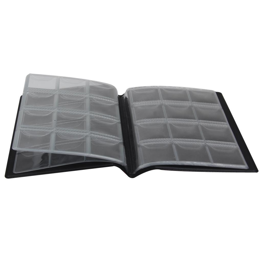 Raccoglitore-per-Monete-da-Collezione-Album-Portamonete-120-Tasche-10-Fogli miniatura 3