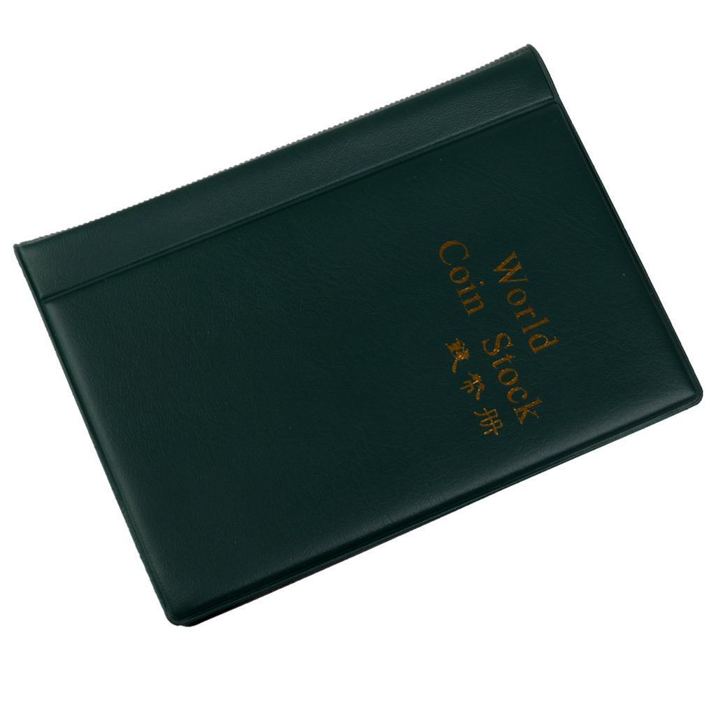 Raccoglitore-per-Monete-da-Collezione-Album-Portamonete-120-Tasche-10-Fogli miniatura 6