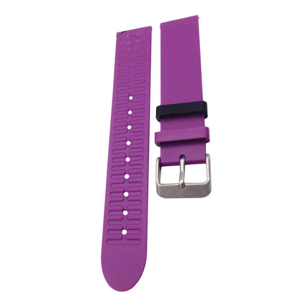 Indexbild 8 - Smart Watch Wristband, TPE Gummi Gel Handgelenk Band Bügel Gurt und