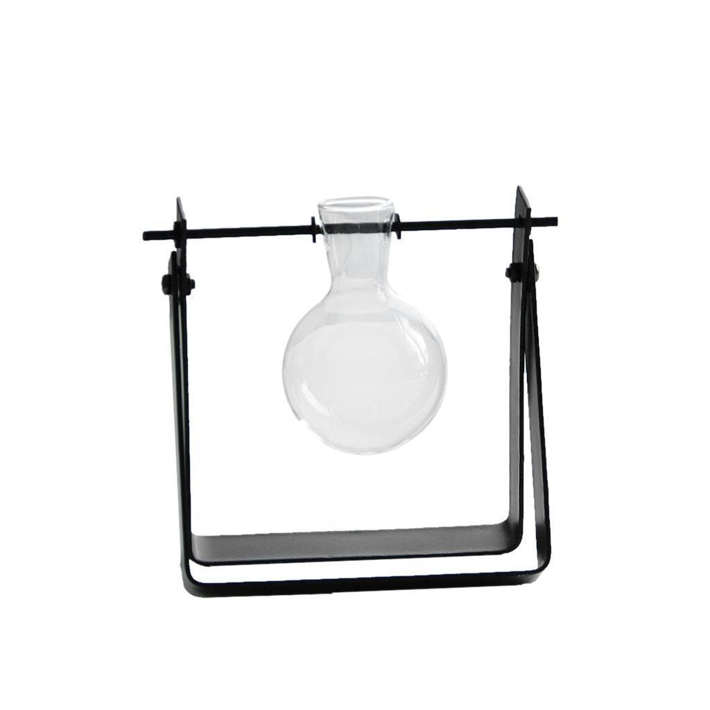 Vase-Boule-Suspension-de-plantes-en-verre-Container-a-Fleurs-Maison-Jardin-Decor miniature 3