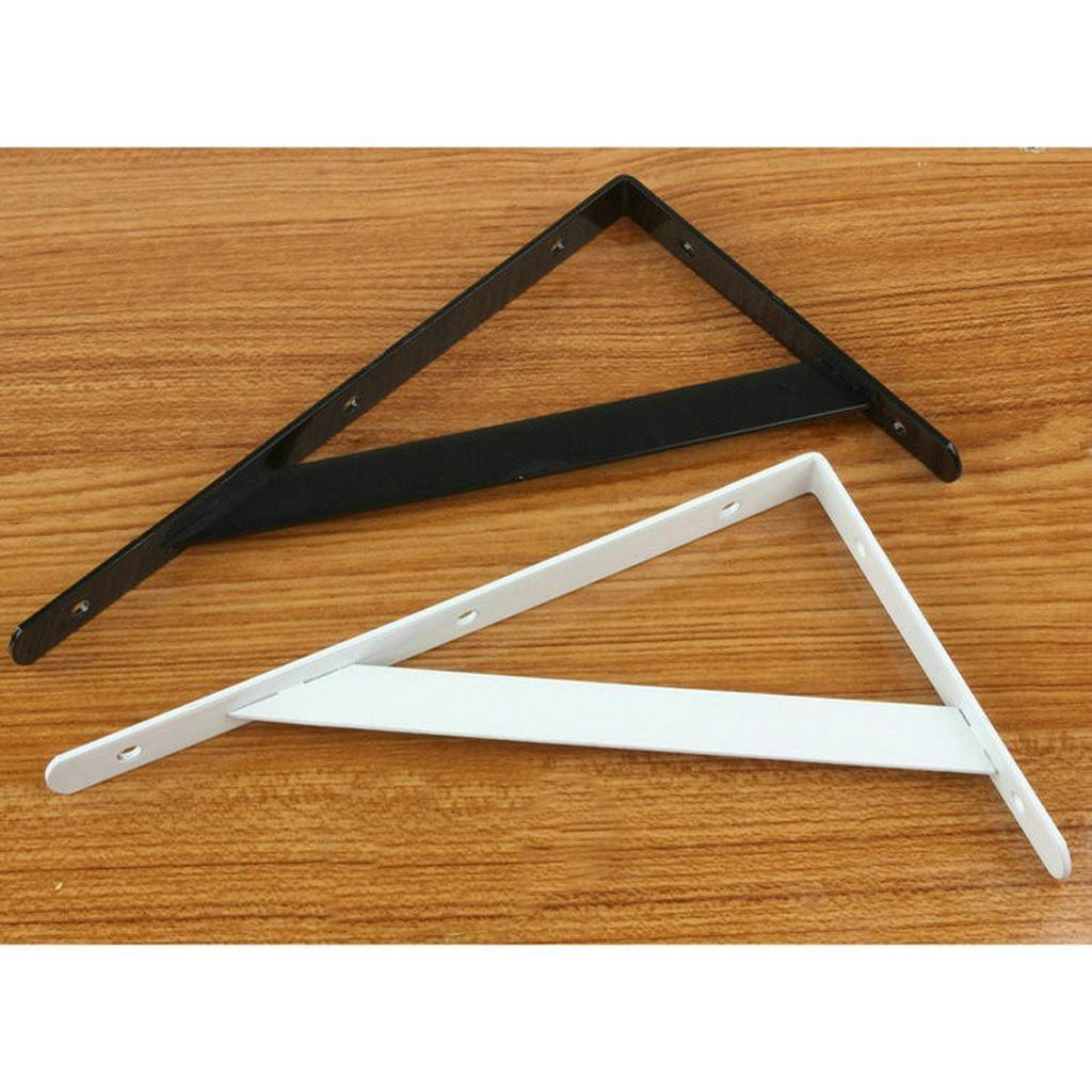Cast-Iron-Shelf-Brackets-Supporter-Heavy-Duty-Load-Metal-Strong-Reinforced-Pairs miniature 23