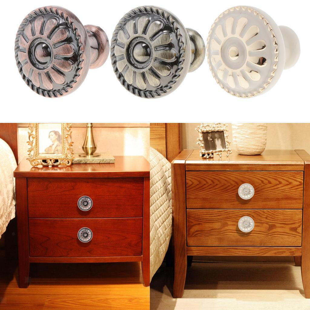 Details about Retro Dresser Pulls Handle Knobs Drawer Knob Kitchen Cabinet  Door Hardware 4430f8abc727