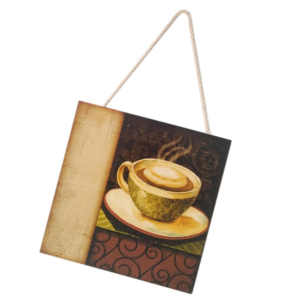 Caffe-d-039-annata-del-modello-del-segno-del-segno-di-legno-per-la-decorazione miniatura 9