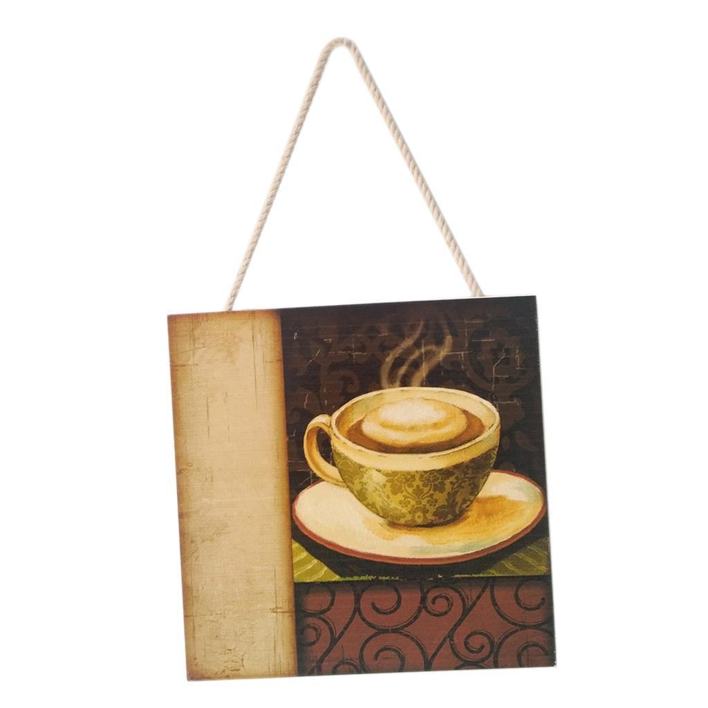 Caffe-d-039-annata-del-modello-del-segno-del-segno-di-legno-per-la-decorazione miniatura 10