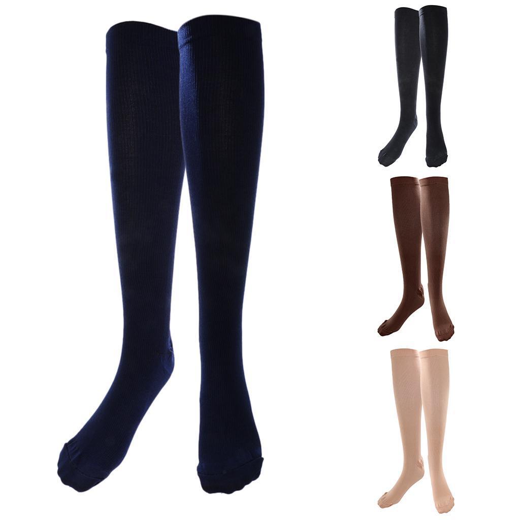 Kniehohe-Struempfe-Kniestruempfe-Kompressionsstruempfe-Socken Indexbild 13