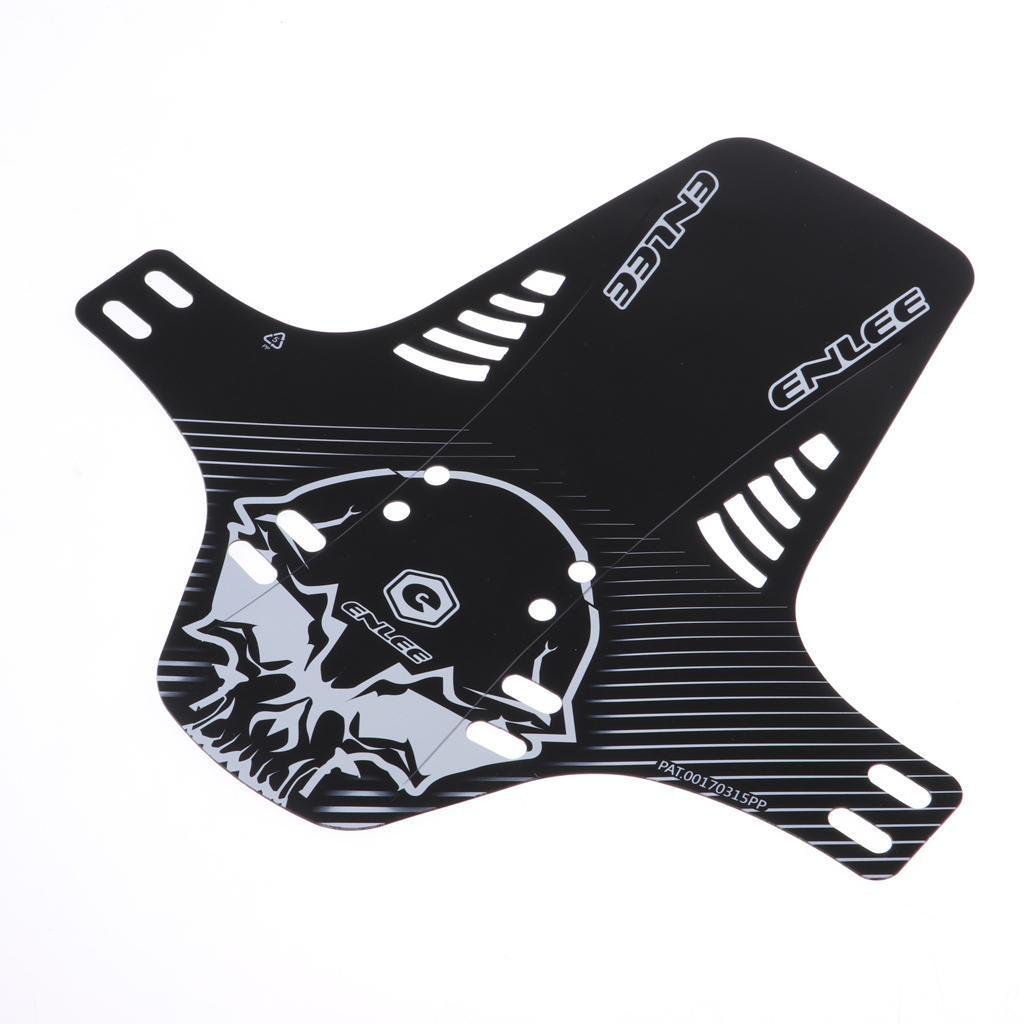 Parafanghi-MTB-per-Mountain-Bike-Parafango-anteriore-con-cinturino miniatura 11