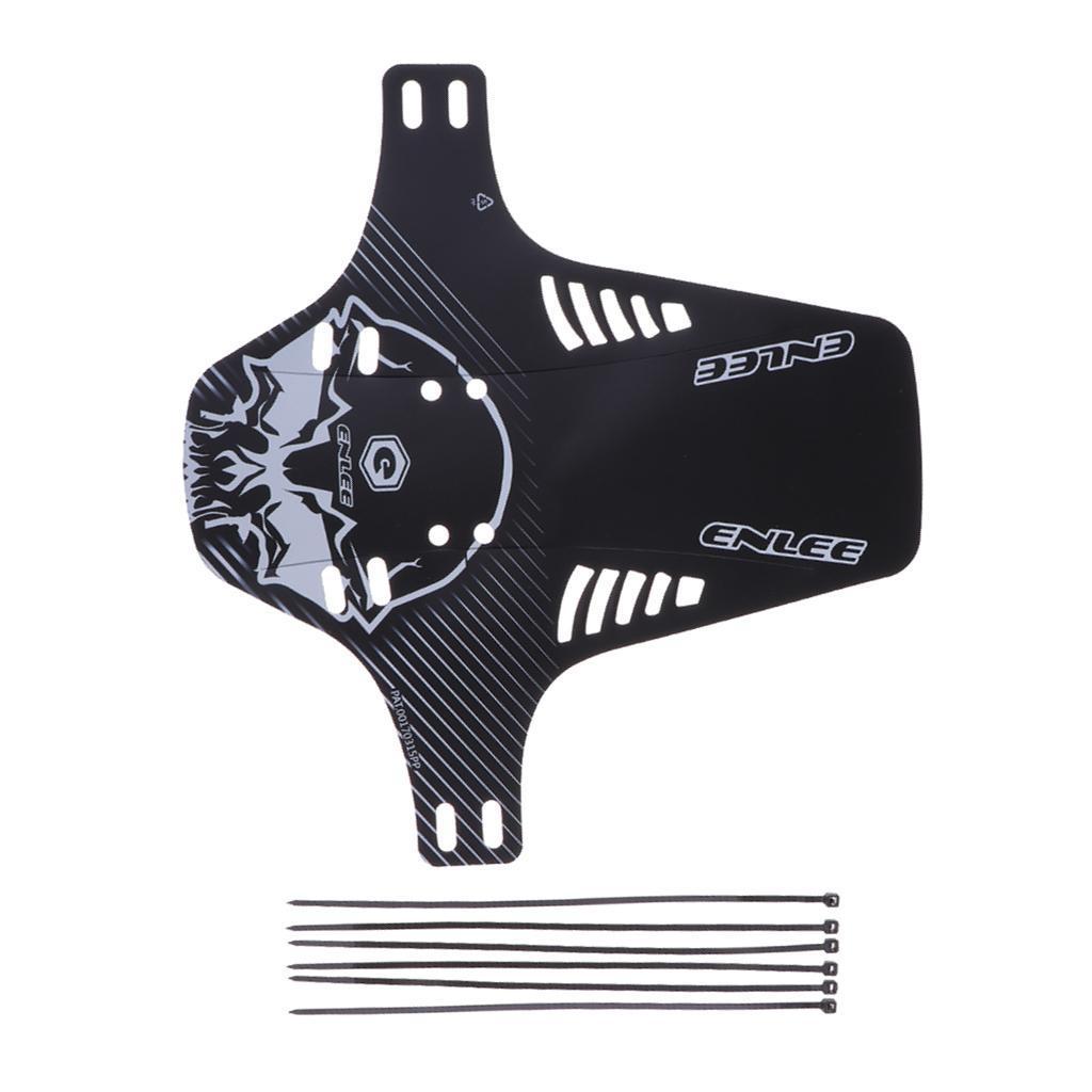Parafanghi-MTB-per-Mountain-Bike-Parafango-anteriore-con-cinturino miniatura 12
