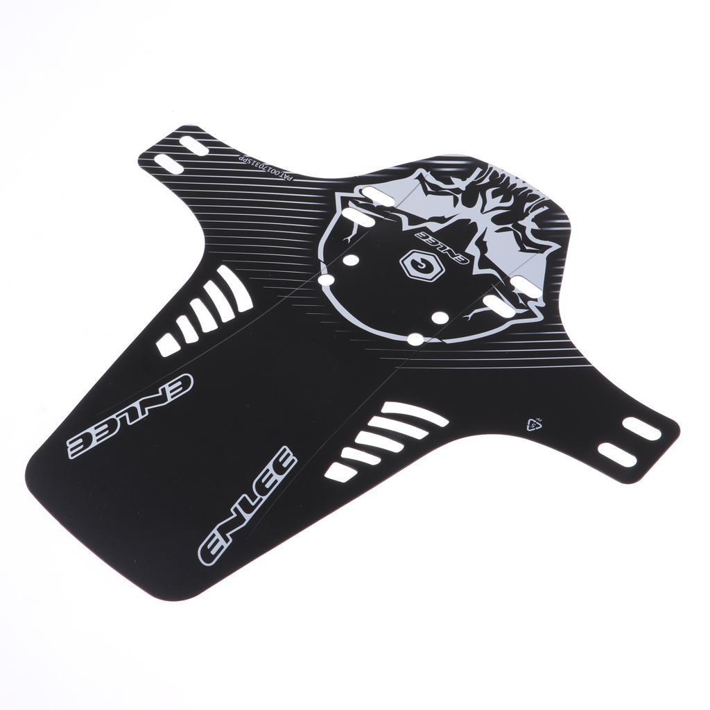 Parafanghi-MTB-per-Mountain-Bike-Parafango-anteriore-con-cinturino miniatura 13