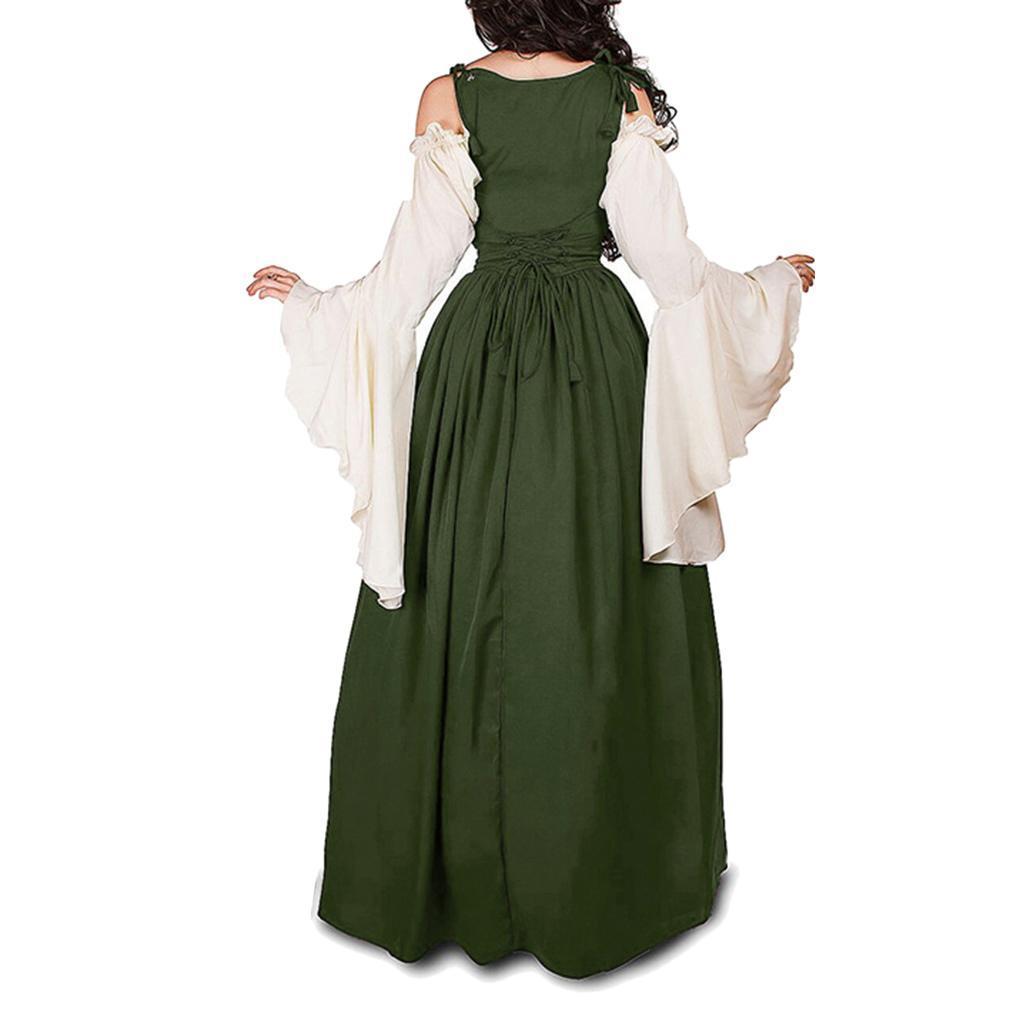 Renaissance Medieval Clothes Costume Floor Length