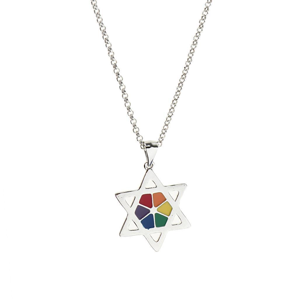 Gay-Lgbt-Pride-Rainbow-Flag-Charms-Pendant-Necklace-Men-Women-Unisex-Jewelry thumbnail 5