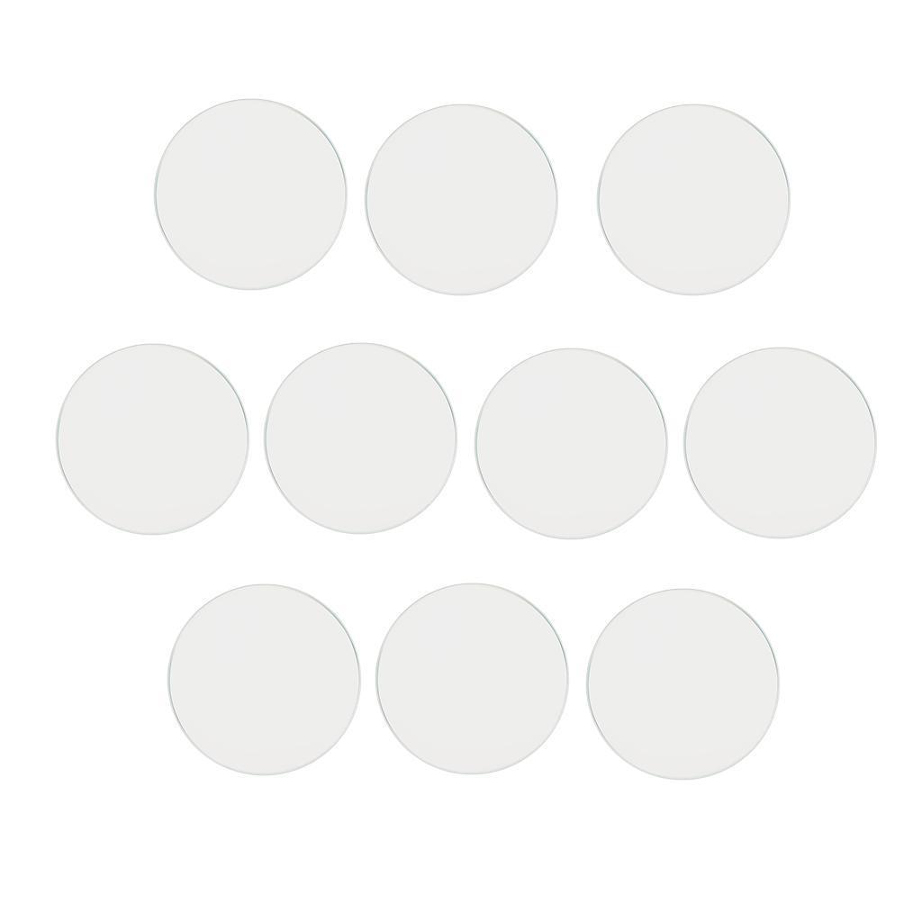 10-Pezzi-Glass-per-Orologio-DIY-Strumento-Vetro-Minerale-in-Cristallo miniatura 5