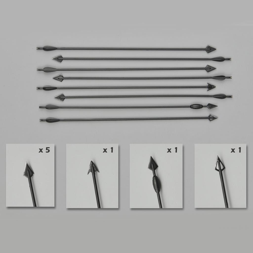1//6 Scale Accessories Model Bow and Arrow Combination Set for 12/'/' Action Figure