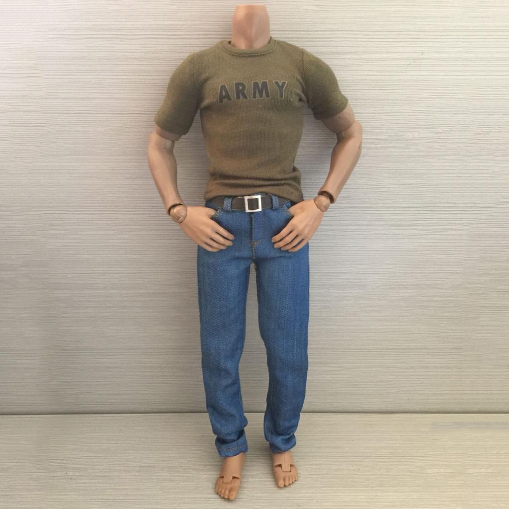 1-6-Scale-Men-039-s-Outfits-Clothes-Set-For-12-039-039-Hot-Toys-Action-Figure-Accessories miniature 20
