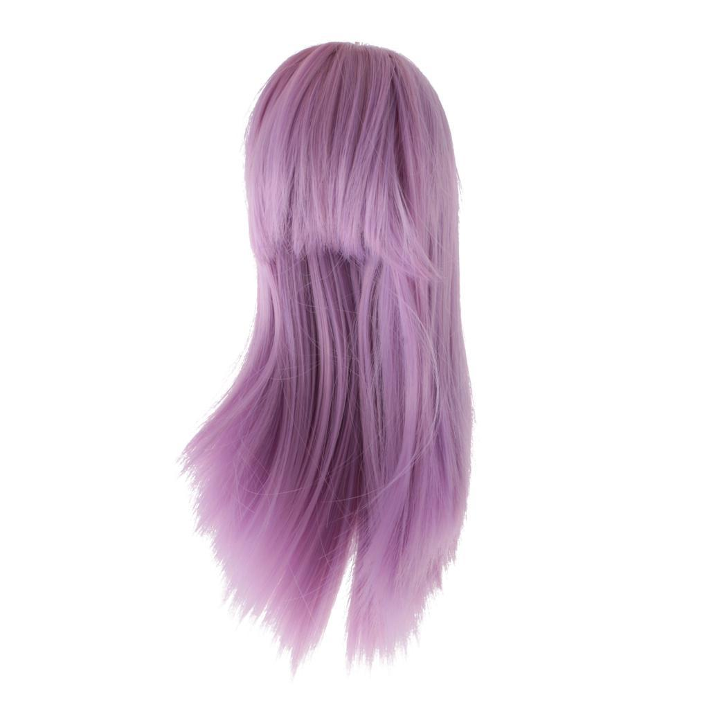 Straight-Wavy-Curly-Hair-Wig-for-18-039-039-Dolls-Clothes-Accessories thumbnail 59