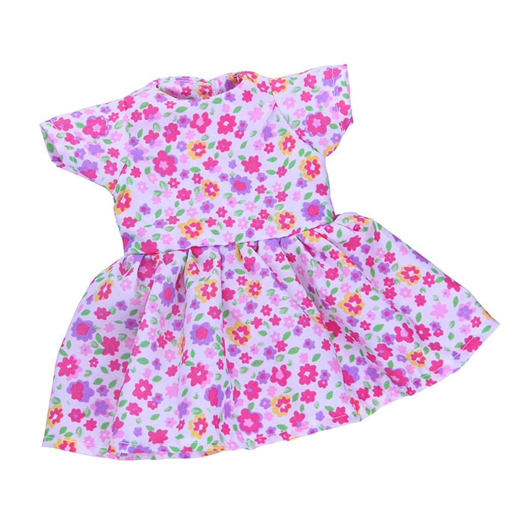 14-inch-Dolls-Lovely-Clothing-Party-Dress-Casual-Suit-for-American-Doll-Outfit thumbnail 13
