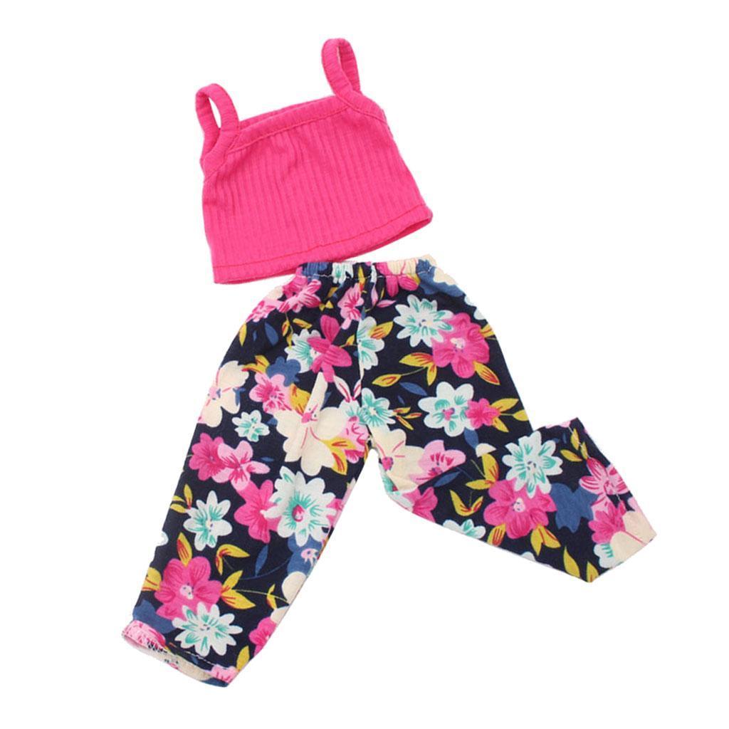 For-18-039-American-Doll-Doll-Generation-Doll-Clothes-Pajamas-Swimwear-Bikini-Shirt miniature 12