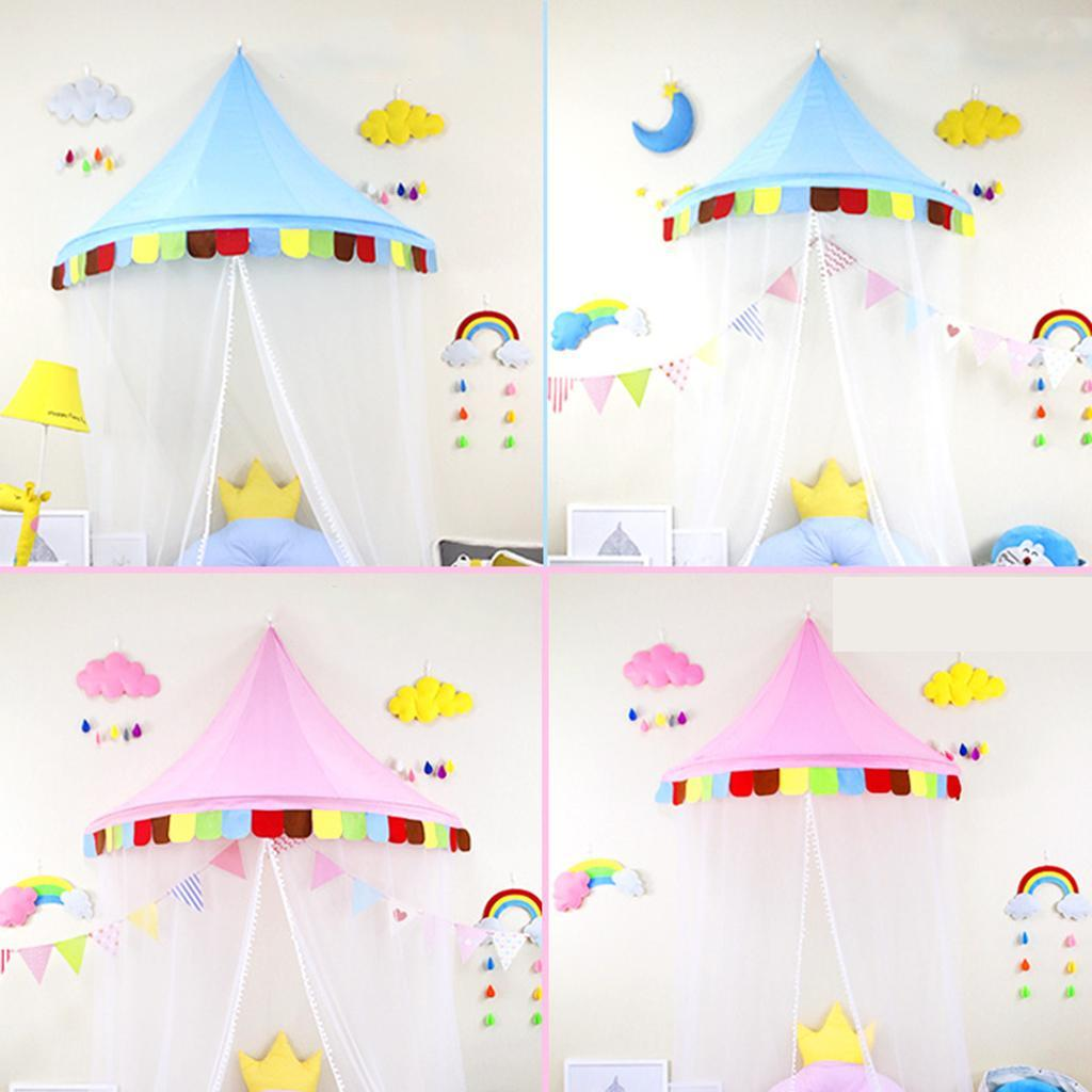 Tenda Letto A Castello.Dettagli Su Giocattolo Tenda Letto Gioco Castello Fata Decorazione Domestica Bambino Tessuto