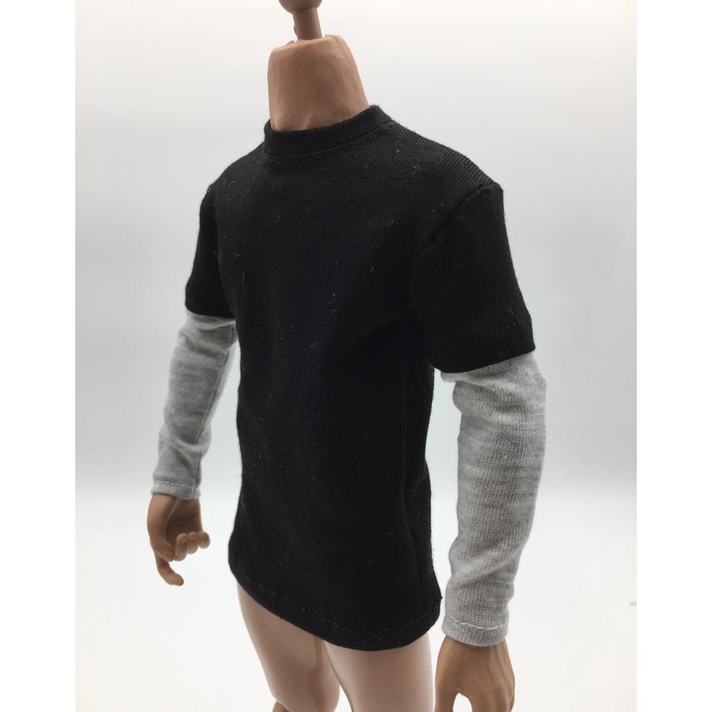 1//6 12/'/' Action Figure Clothing Jacket Hoodie T-shirt Shirt Pants for Hot Toys