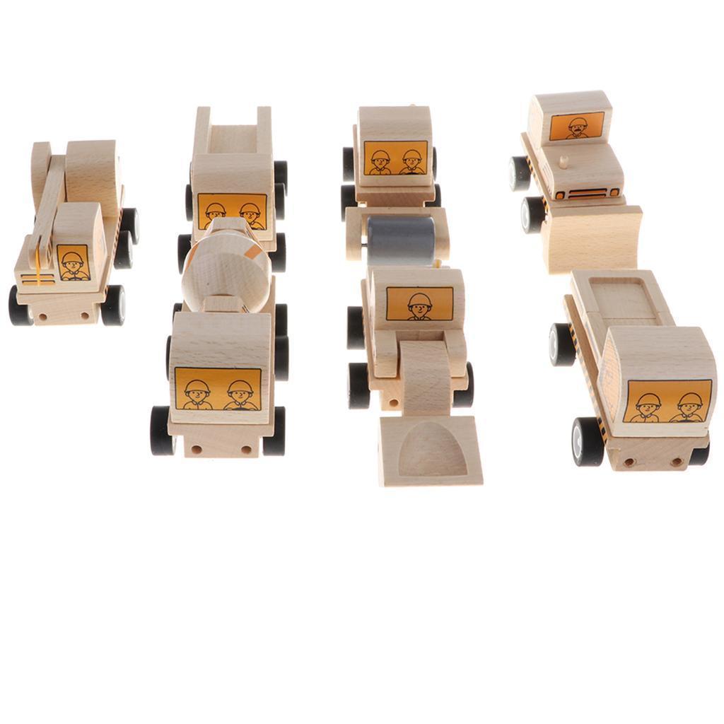 miniature 4 - Puzzle 3D Camion de Génie Jouet Montage en Bois Vehicule Simulation