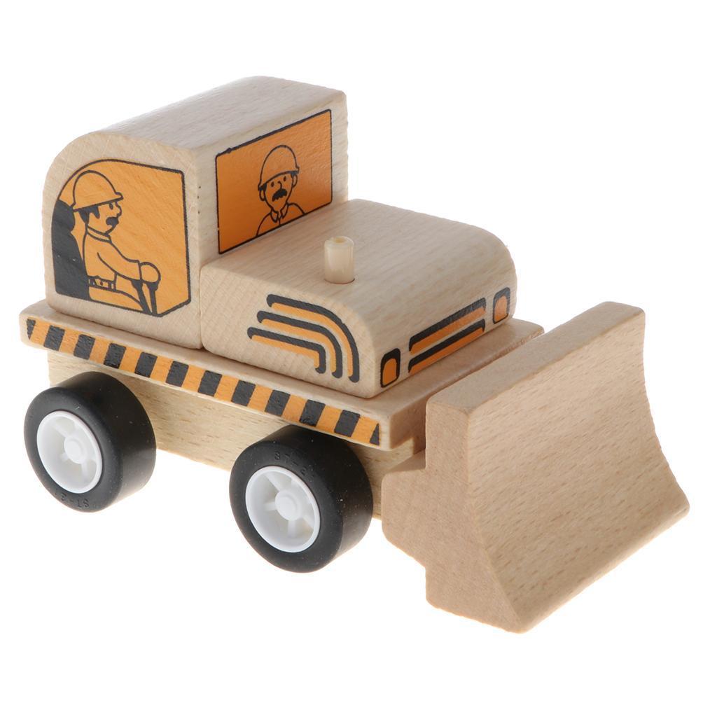 miniature 5 - Puzzle 3D Camion de Génie Jouet Montage en Bois Vehicule Simulation