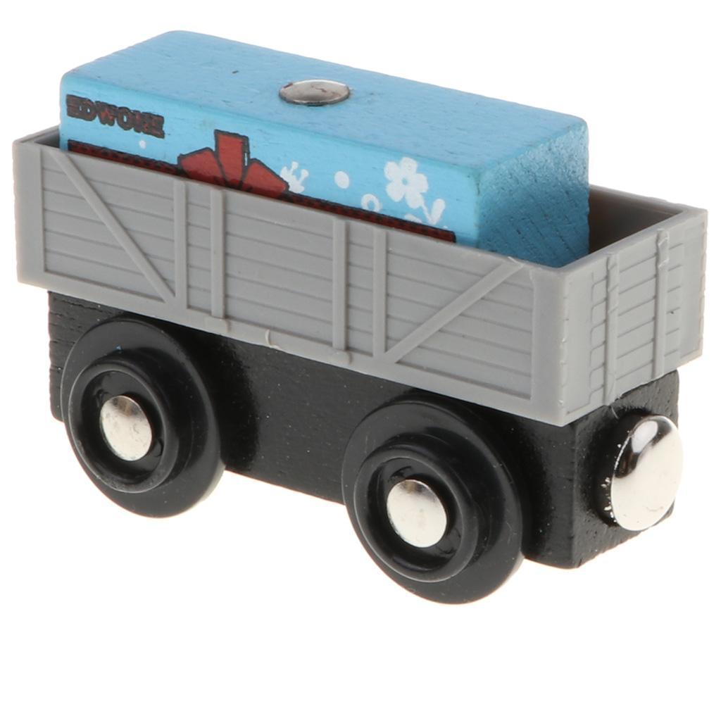 Varios-conjunto-de-construccion-de-tren-de-madera-TRACKS-Railway-Bridge-Accesorio-Juguete-compatible miniatura 4