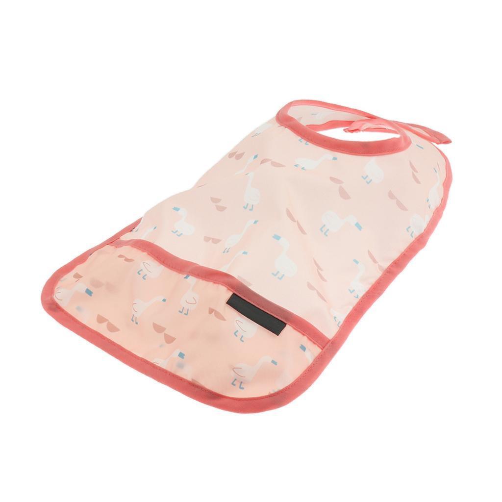 Baby-Waterproof-Bib-Comfort-Easily-Wipes-Clean-Feeding-Bibs miniature 4