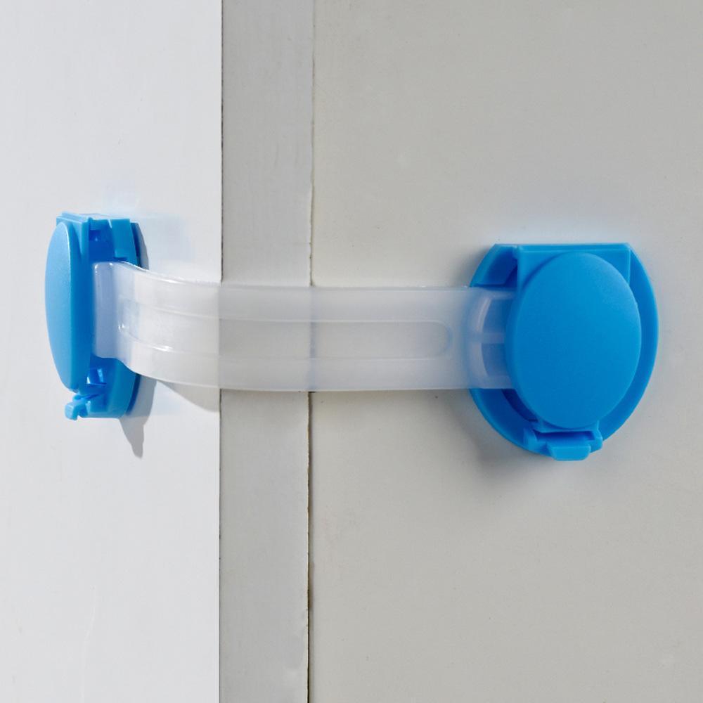 5Pcs-Multi-Purpose-Baby-Kids-Plastic-Drawer-Door-Cabinet-Safety-Lock-DIY-Kit thumbnail 3