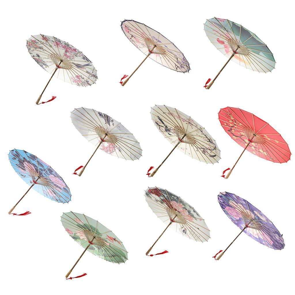 Parapluie-Chinois-Parasol-De-Mariage-Maison miniature 4