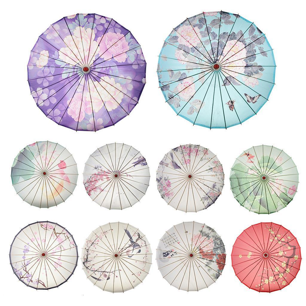 Parapluie-Chinois-Parasol-De-Mariage-Maison miniature 5