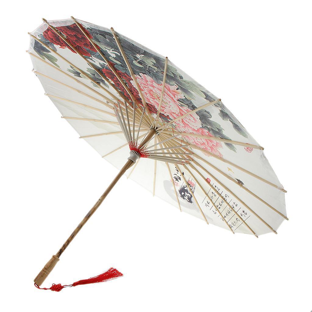 Parapluie-Chinois-Parasol-De-Mariage-Maison miniature 35