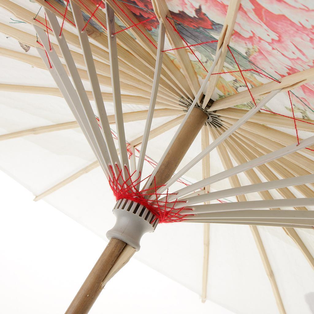 Parapluie-Chinois-Parasol-De-Mariage-Maison miniature 36
