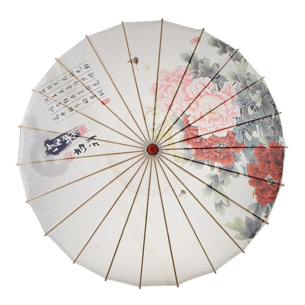 Parapluie-Chinois-Parasol-De-Mariage-Maison miniature 34