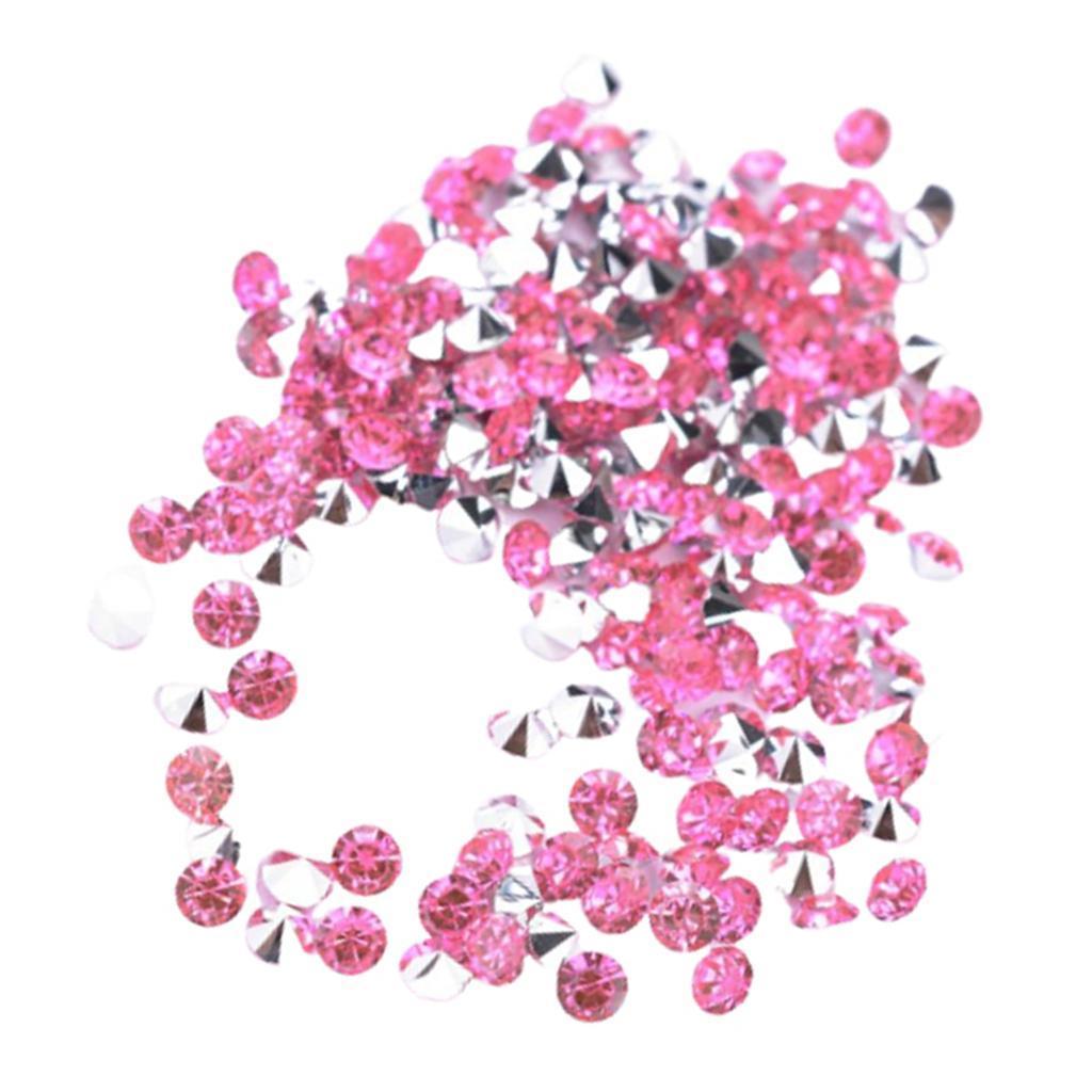 5000-Crystal-Diamonds-Confetti-Wedding-Bridal-Party-Decorations-Vase-Fillers thumbnail 17