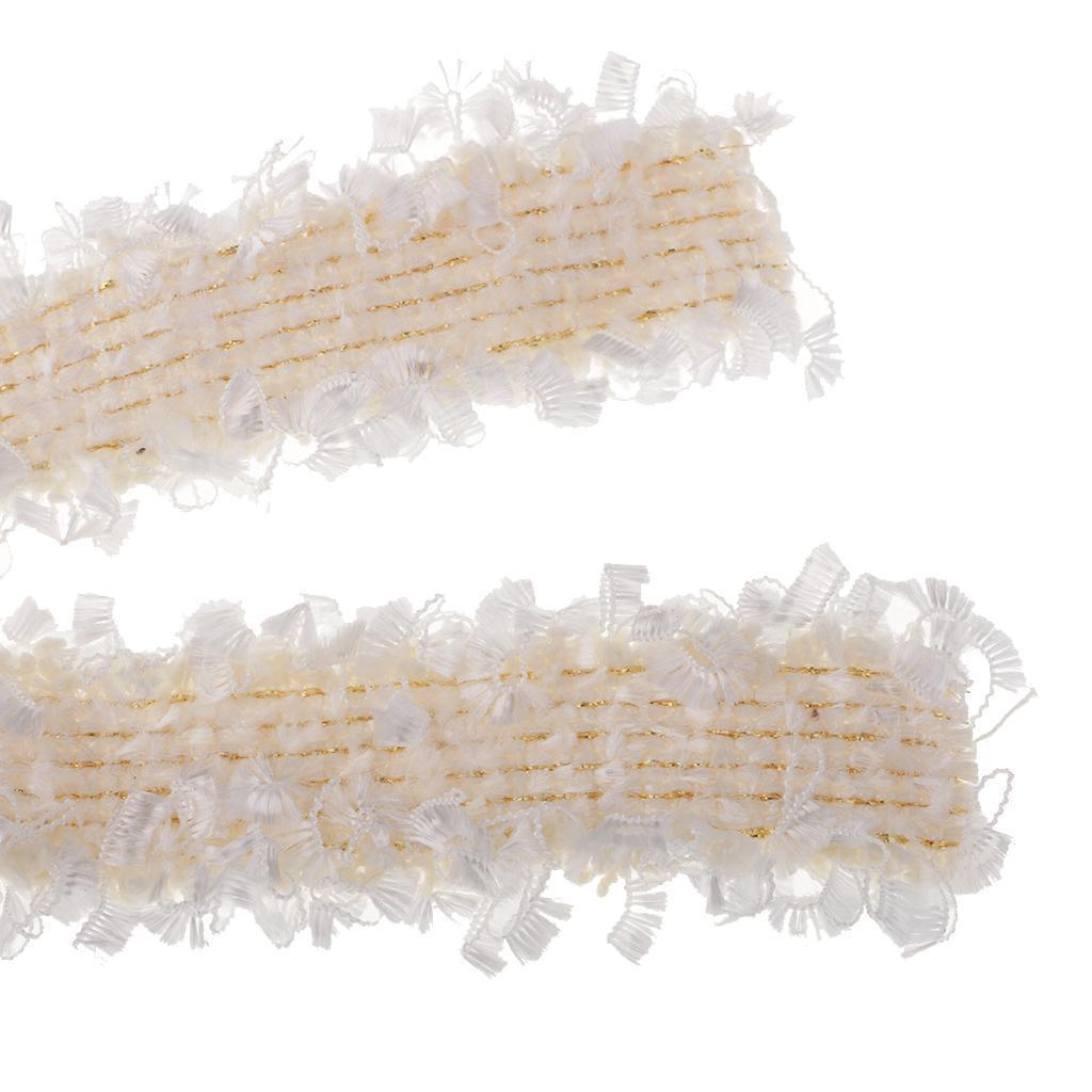 1-Yard-Elegant-Braided-Fabric-Ribbon-Lace-Trim-Embellishment-for-Wedding-Party thumbnail 3