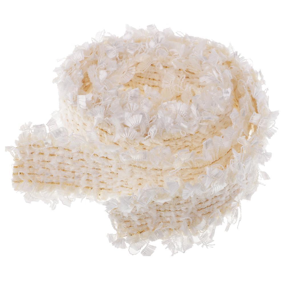 1-Yard-Elegant-Braided-Fabric-Ribbon-Lace-Trim-Embellishment-for-Wedding-Party thumbnail 4