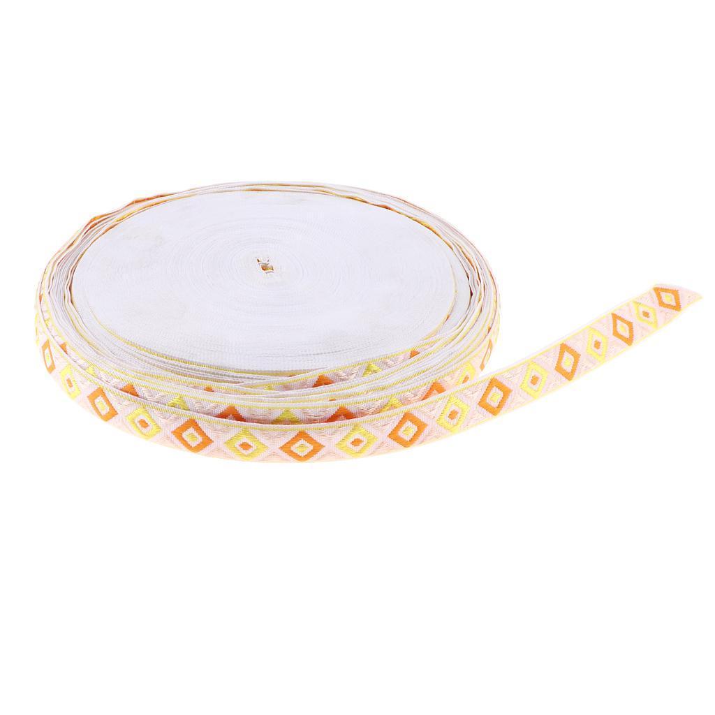 50-Yard-Ethnic-Tassel-Trim-Embroidery-Fringe-Ribbon-DIY-Sewing-Curtain-Skirt thumbnail 17